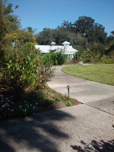 path to gazebo at Leu gardens